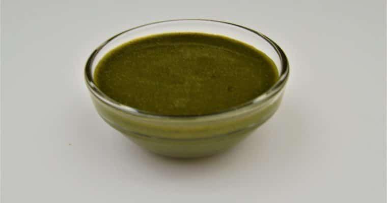Green Chutney for Chaats | Mint and Coriander chutney recipe