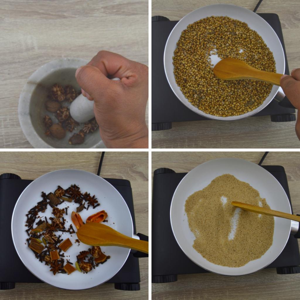 recipe of biryani masala powder
