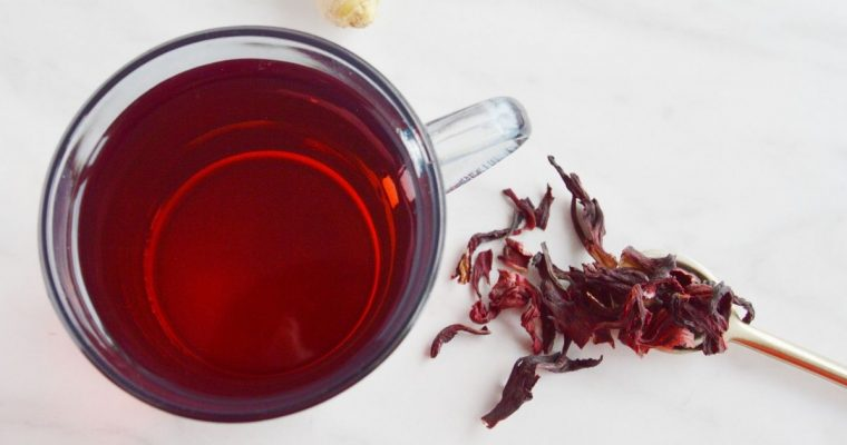 Hibiscus Tea Recipe (Healthy herbal tea w/ Video)