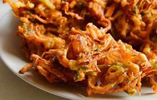 Vegetable Pakora (Gluten free & Vegan) (Video)